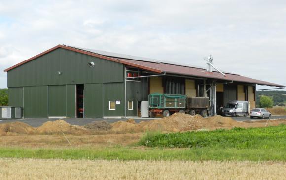 Neubau einer Getreidelagerhalle mit Lagerbelüftungstrocknung