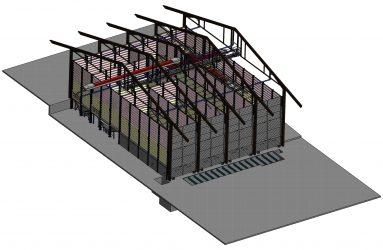 LM Engineering - Beispiel einer 3D-Zeichnung