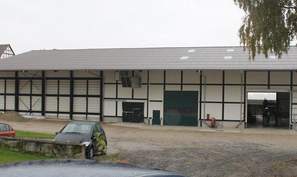 Altgebäudesanierung - Getreidehalle/Mehrzweckhalle - Gut Winterbüren Fuldatal