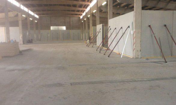 Erneuerung der Getreidebelüftung in einer vorhandenen Flachlagerhalle - Agrar GmbH Hassenhausen